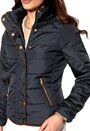 VILA Lonar Padded Jacket Total eclipse