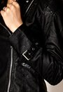 VILA Favoris Biker Jacket Black