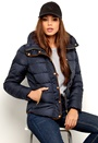 VILA Lonar New Padded Jacket Total eclipse Bubbleroom.se