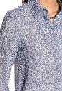 RODEBJER Hathaway Floral Shirt 680 Indigo