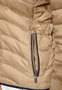 TOMMY HILFIGER Hollie Down Hooded Jacket Classic Taupe