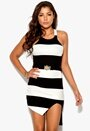 Chiara Forthi Monrow Dress Black/Offwhite Bubbleroom.se