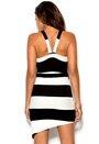 Chiara Forthi Monrow Dress Black/Offwhite