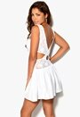 Chiara Forthi Lavinia Dress White Bubbleroom.se