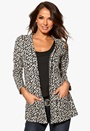 Happy Holly Cardigan Leopard Bubbleroom.se