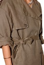 SELECTED FEMME Tenne Trench Coat Teak