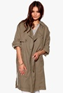 SELECTED FEMME Tenne Trench Coat Teak Bubbleroom.se