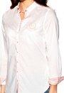 TOMMY HILFIGER 50s poplin combo shirt 100 White