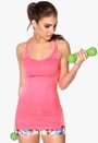 ONLY PLAY Lavern Seamless Top Neon Pink Bubbleroom.se