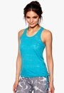 ONLY PLAY Erica Burn Out Top Scuba Blue