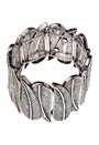 Pieces Louisa Bracelet Silver Colour 1 Bubbleroom.se