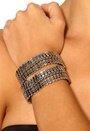 Pieces Louisa Bracelet Silver Colour 3