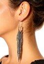 Pieces Ofella Earrings Box Silver Colour