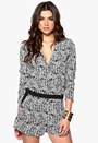 SuperTrash Winston Jumpsuit 901 Zebra Bubbleroom.se