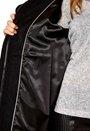 Minimarket Hopi Krizia Coat Black+Black