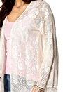 MINKPINK Summer Loving Lace Kimono Cream