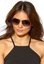 Le Specs Just Mauid Sunglasses Gold/Black/Smoke