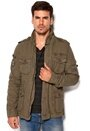 Alpha Industries Pioneer Jacket Greyblack/green Bubbleroom.se