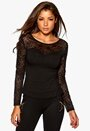 Chiara Forthi Emille Top Black