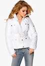 Chiara Forthi Kelsey Quilted Jacket White