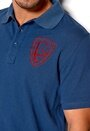 D.Brand Boudal Polo Navy/Red