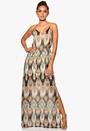 DRY LAKE Naomi Long Dress Mystic Print Bubbleroom.se