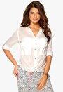 G-STAR Tycho Loose Shirt 111 Milk Bubbleroom.se