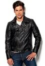 Gipsy Ricco Leather Jacket BLK