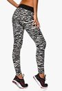 TrulyMine Leggings Zebra