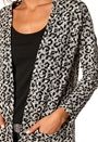 Happy Holly Cardigan Leopard