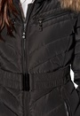Hollies Davos Long Jacket Black
