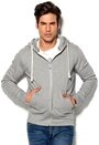 JACK&JONES Storm Sweat Light Grey Melange Bubbleroom.se