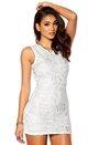 Model Behaviour Audrey Dress White