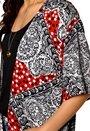 MINKPINK Spot Surprise Kimono Multi