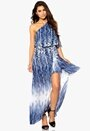 Make Way Devyn Dress Blue Printed