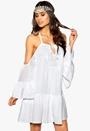 Make Way Wen Dress White