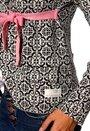 Odd Molly Lovley Knit Jacket Almost Black
