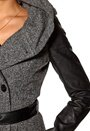 ONLY New Lisa Short Boucle WO Dark Grey Melange