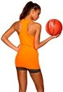 ONLY PLAY Christine Seamless SL Top Neon Orange