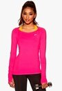 ONLY PLAY Claire LS Training Top Pink Glo Bubbleroom.se