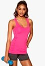 ONLY PLAY Claire SL Training Top Pink Glo Bubbleroom.se