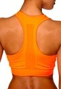 ONLY PLAY Maia Seamless Sports Top Neon Orange