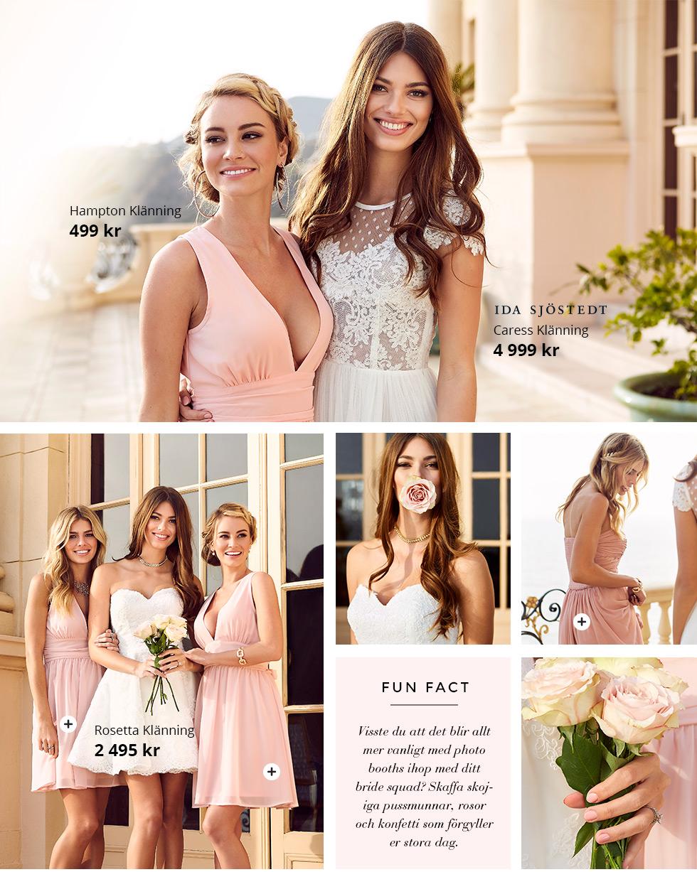 Wedding parties - tärnklänningar, balklänningar och festklänningar