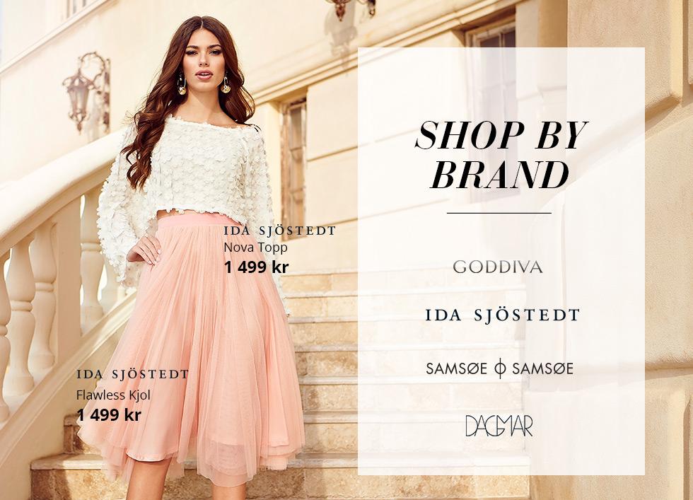 Hitta klänningar efter varumärken, Goddiva och Ida Sjöstedt
