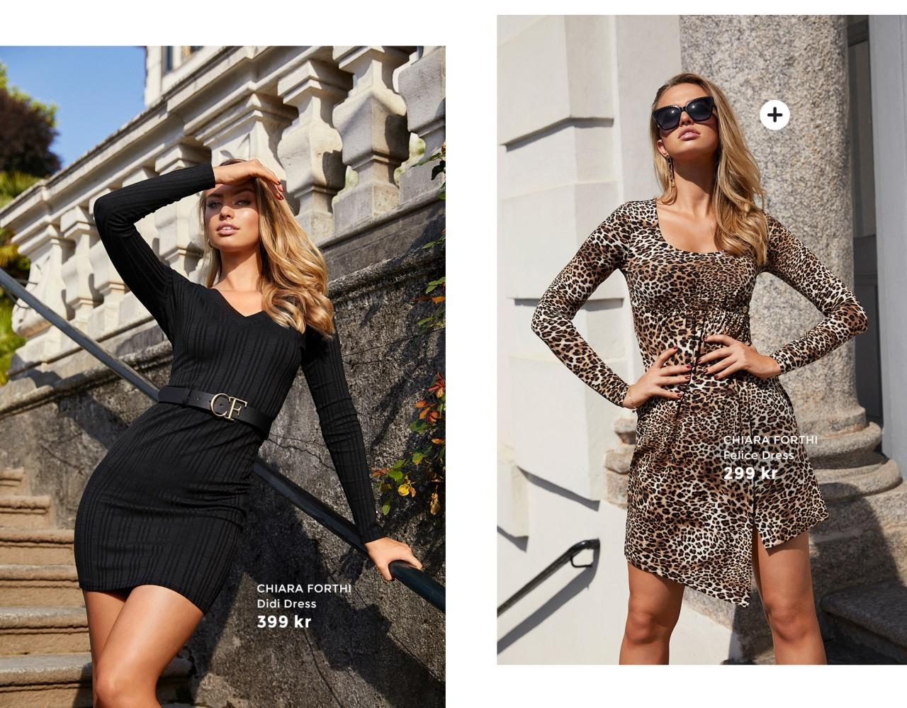 Detaljrika klänningar och leo prints