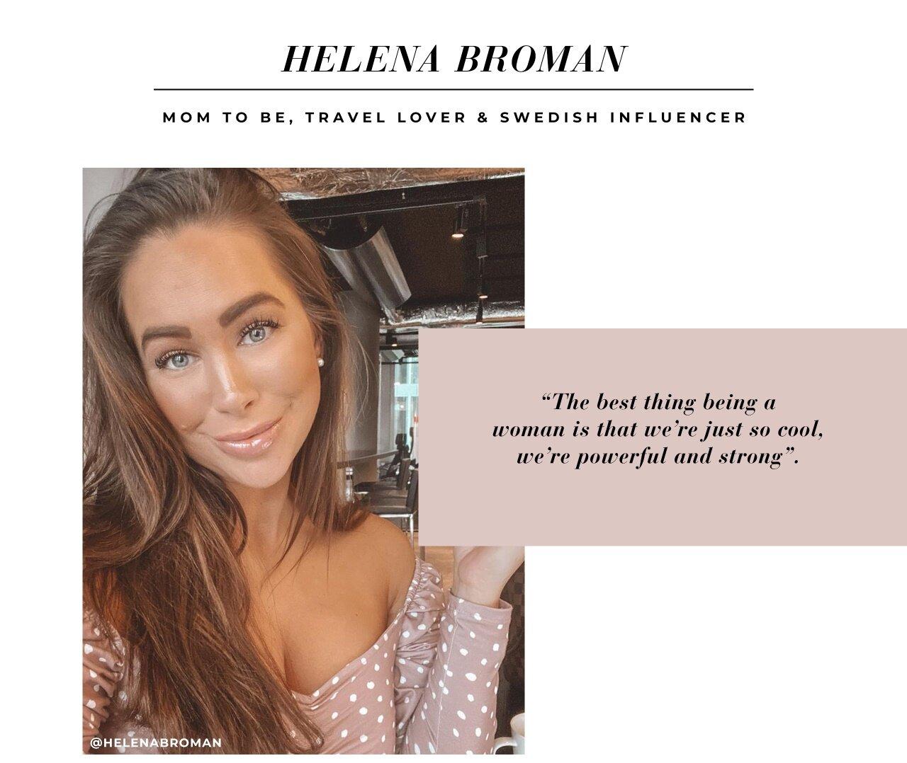 Helena Broman influencer