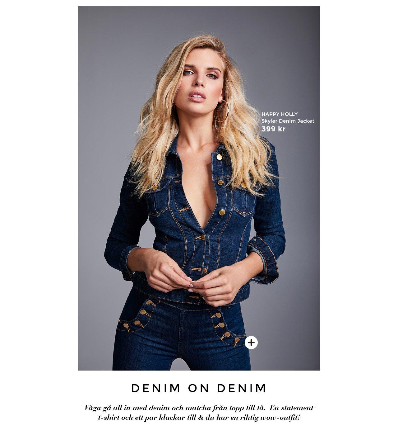 Skyler denim jacket - Adina highwaist jeans