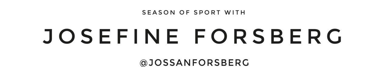 Season of sport with @jossanforsberg