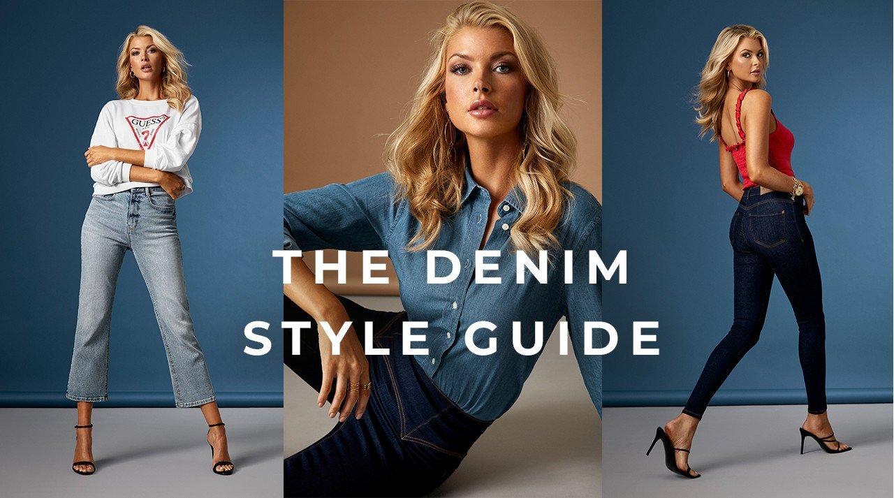 Straight leg jeans, cropped jeans, jeans med hög midja - säsongens denimnyheter är här!