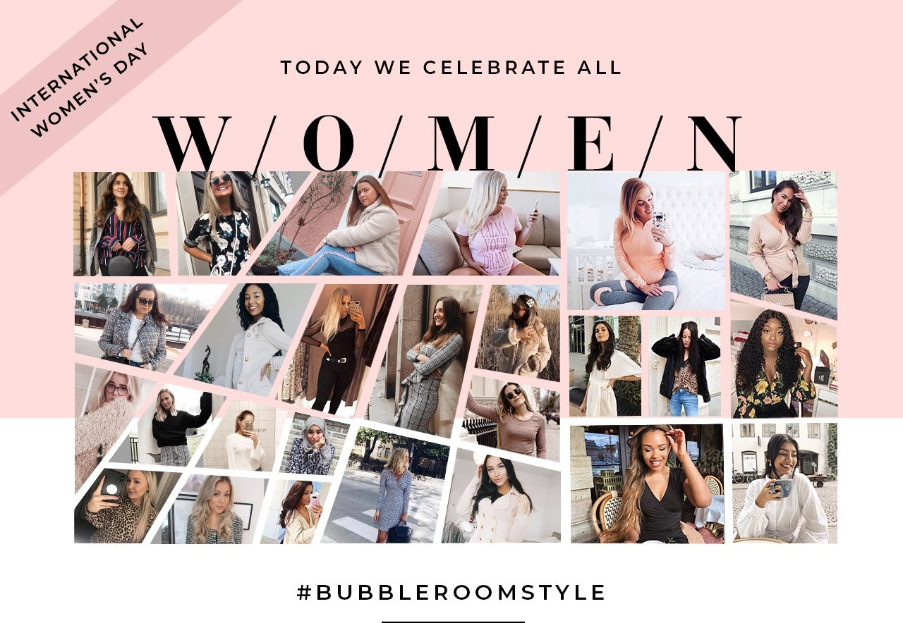 Vi firar Internationella kvinnodagen genom att lyfta er.